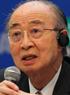 明石康氏(元国連事務次長、国際文化会館理事長)