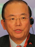 武藤敏郎氏(大和総研理事長、「東京?北京フォーラム」副実行委員長)