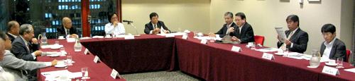 言論NPO 第3回「会員交流会」